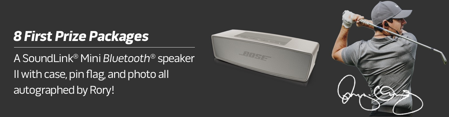Bose | 8 First Prize Packages.